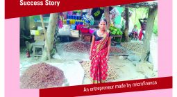 An entrepreneur made by microfinance